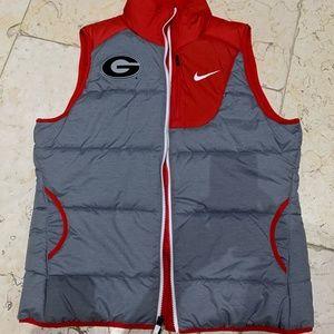 Nike UGA Women's Puffer Vest